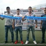 """4-ма юноши на """"Поморие"""" подписаха първи професионални договори с клуба"""